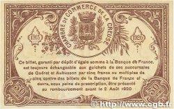 50 Centimes FRANCE régionalisme et divers Guéret 1915 JP.064.07 TTB+
