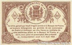50 Centimes FRANCE régionalisme et divers GUÉRET 1915 JP.064.07 SPL+