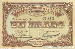 1 Franc FRANCE régionalisme et divers Guéret 1915 JP.064.09 TTB