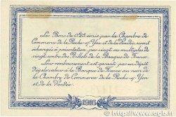 25 Centimes FRANCE régionalisme et divers LA ROCHE-SUR-YON 1916 JP.065.26 SPL