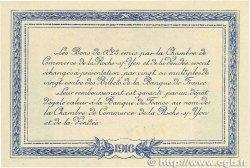 25 Centimes FRANCE régionalisme et divers La Roche-Sur-Yon 1916 JP.065.26 NEUF