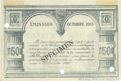 50 Centimes FRANCE régionalisme et divers La Rochelle 1915 JP.066.02 SUP+