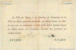 50 Centimes FRANCE régionalisme et divers LE HAVRE 1918 JP.068.01 TTB