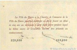 50 Centimes FRANCE régionalisme et divers LE HAVRE 1918 JP.068.01 SUP