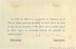 1 Franc FRANCE régionalisme et divers LE HAVRE 1915 JP.068.10 TTB
