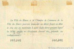 2 Francs FRANCE régionalisme et divers LE HAVRE 1915 JP.068.12 TTB