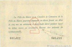 2 Francs FRANCE régionalisme et divers LE HAVRE 1915 JP.068.12 SUP+
