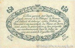50 Centimes FRANCE régionalisme et divers Le Mans 1915 JP.069.01 TTB
