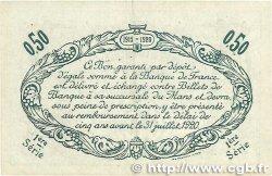 50 Centimes FRANCE régionalisme et divers Le Mans 1915 JP.069.01 TTB+