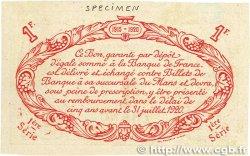 1 Franc FRANCE régionalisme et divers Le Mans 1915 JP.069.06 TTB
