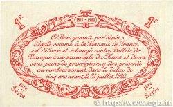 1 Franc FRANCE régionalisme et divers Le Mans 1915 JP.069.08 SPL+