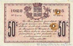 50 Centimes FRANCE régionalisme et divers Le Mans 1922 JP.069.23 TB