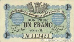 1 Franc FRANCE regionalism and various Le Puy 1916 JP.070.06 aXF