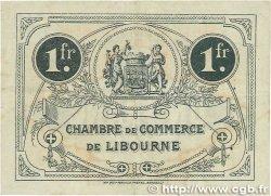 1 Franc FRANCE régionalisme et divers LIBOURNE 1915 JP.072.13 TTB