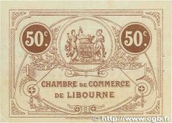 50 Centimes FRANCE régionalisme et divers LIBOURNE 1915 JP.072.15 TTB+
