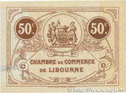 50 Centimes FRANCE régionalisme et divers Libourne 1915 JP.072.15 SUP