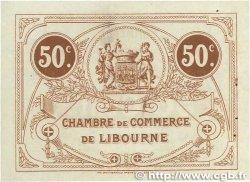 50 Centimes FRANCE régionalisme et divers Libourne 1915 JP.072.15 pr.SPL