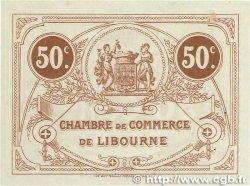 50 Centimes FRANCE régionalisme et divers LIBOURNE 1915 JP.072.15 SPL