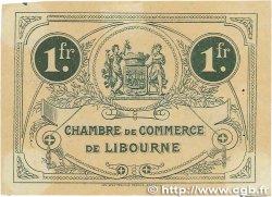 1 Franc FRANCE régionalisme et divers LIBOURNE 1915 JP.072.16 TTB
