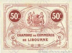50 Centimes FRANCE régionalisme et divers LIBOURNE 1917 JP.072.18 pr.SPL