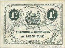 1 Franc FRANCE régionalisme et divers Libourne 1917 JP.072.19 TTB