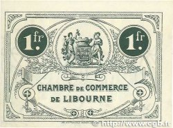 1 Franc FRANCE régionalisme et divers LIBOURNE 1917 JP.072.19 SPL
