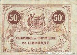 50 Centimes FRANCE régionalisme et divers LIBOURNE 1920 JP.072.29 TB+