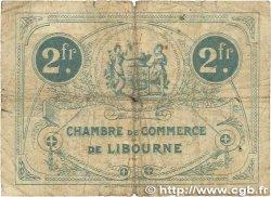 2 Francs FRANCE régionalisme et divers LIBOURNE 1920 JP.072.31 B