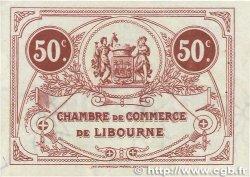 50 Centimes FRANCE régionalisme et divers LIBOURNE 1920 JP.072.32 SUP+