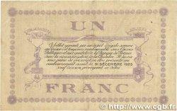 1 Franc FRANCE régionalisme et divers LONS-LE-SAUNIER 1918 JP.074.18 TTB