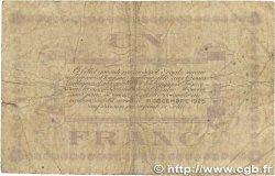 1 Franc FRANCE régionalisme et divers LONS-LE-SAUNIER 1918 JP.074.18 B