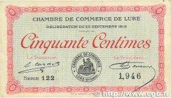 50 Centimes FRANCE régionalisme et divers Lure 1915 JP.076.01 pr.SUP