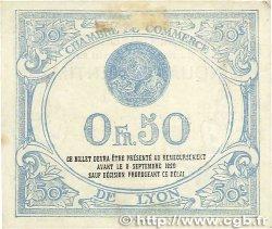 50 Centimes FRANCE régionalisme et divers LYON 1915 JP.077.03 TTB