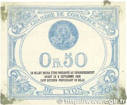 50 Centimes FRANCE régionalisme et divers Lyon 1915 JP.077.03 TTB+