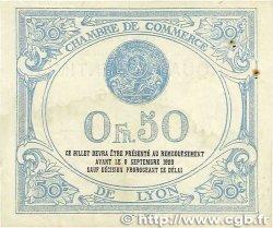 50 Centimes FRANCE régionalisme et divers Lyon 1915 JP.077.03 pr.SUP