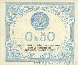 50 Centimes FRANCE régionalisme et divers Lyon 1915 JP.077.04 pr.NEUF