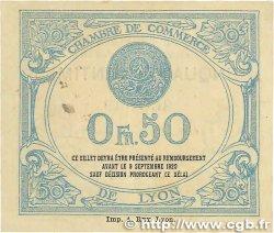 50 Centimes FRANCE régionalisme et divers Lyon 1915 JP.077.05 TTB