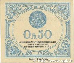 50 Centimes FRANCE régionalisme et divers Lyon 1915 JP.077.05 SUP+