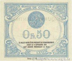 50 Centimes FRANCE régionalisme et divers Lyon 1915 JP.077.05 pr.NEUF