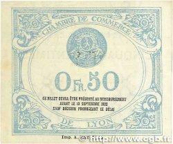 50 Centimes FRANCE régionalisme et divers Lyon 1917 JP.077.14 SPL