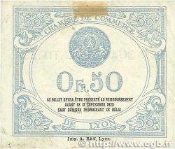 50 Centimes FRANCE régionalisme et divers Lyon 1917 JP.077.14 TB+