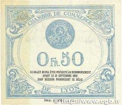 50 Centimes FRANCE régionalisme et divers LYON 1917 JP.077.14