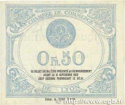 50 Centimes FRANCE régionalisme et divers Lyon 1917 JP.077.14 pr.SPL