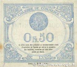 50 Centimes FRANCE régionalisme et divers Lyon 1918 JP.077.16 TTB