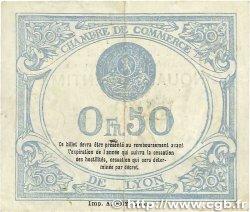 50 Centimes FRANCE régionalisme et divers Lyon 1918 JP.077.16 TB