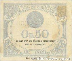 50 Centimes FRANCE régionalisme et divers LYON 1919 JP.077.18 pr.TTB