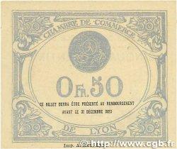 50 Centimes FRANCE régionalisme et divers LYON 1919 JP.077.18 pr.SPL