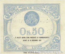50 Centimes FRANCE régionalisme et divers Lyon 1919 JP.077.18 TTB+