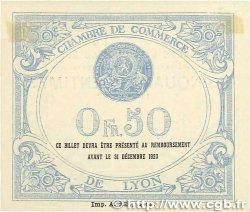 50 Centimes FRANCE régionalisme et divers Lyon 1919 JP.077.18 SPL+