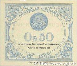 50 Centimes FRANCE régionalisme et divers Lyon 1919 JP.077.18 pr.NEUF